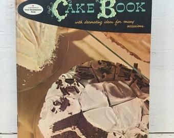 Good Housekeeping's Cake Book - Vintage Cookbook