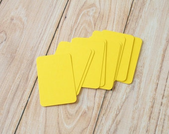 50pc YELLOW Eco Series Business Card Blanks