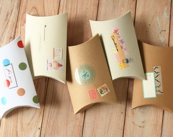 50pc Small DIY pillow boxes craft packaging