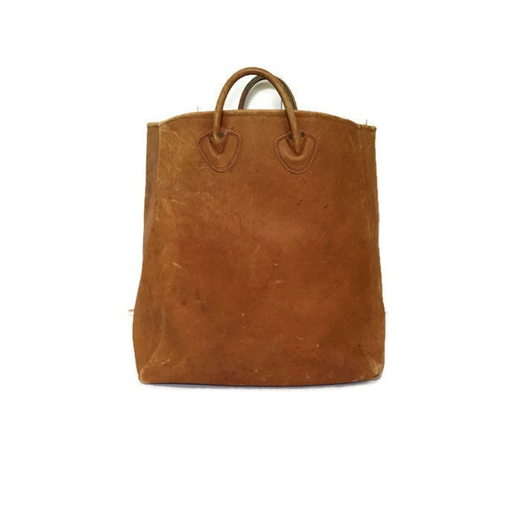 Reserved Vintage Ll Bean Leather Tote Bag Oversized Leather