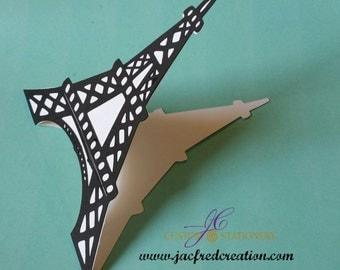 Eiffel paris tower invitation (10)