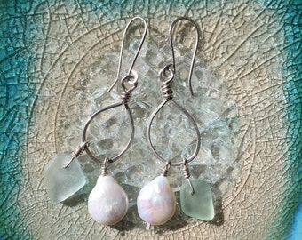 Amagansett Aqua and Pearl