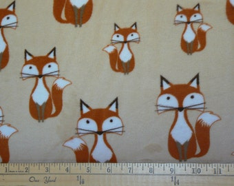 Foxy Tails Cuddle Minky Fabric by Shannon Fabrics - 1 yard