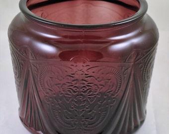 Royal Lace Amethyst Cookie Jar Base