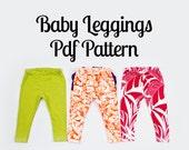 Baby Leggings Pattern | Optional Ruffles!