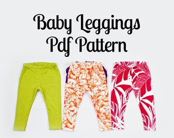 Baby Leggings Pattern | Optional Ruffles!