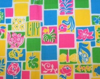 Vintage 70's Cotton Fabric