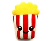 Popcorn Plush Cushion fun food home kitchen decor