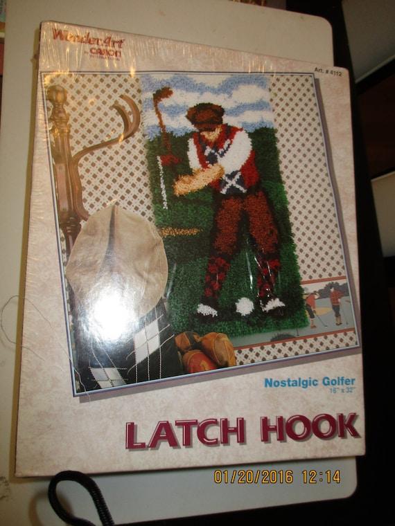 caron latch hook kit instructions