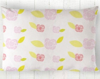 Floral Pillowcases - Standard pillowcases - Kids Pillows - Toddler Pillowcases - Toddler Pillowcase -Kids Birthday Gifts - Girls bedding