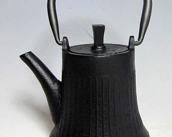 Vintage Japanese  Black Iron Teapot /Winepot