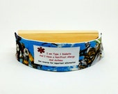 Star Wars Kids Safety I.D. Wristband Medical Alert Bracelet