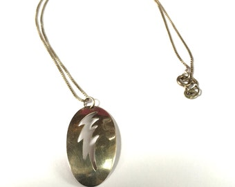 Mid Century Modern Sterling Necklace