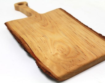 Birch Live Edge Cutting Board - Sustainably Harvested Wood