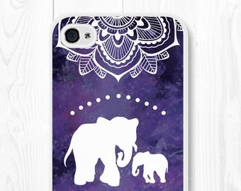 Mandala iPhone 6 Case - Mandala Samsung Galaxy S6 Case Elephant iPhone 6s Case Mandala iPhone 6 Plus Case iPhone 5s Case iPhone 6s Plus Case