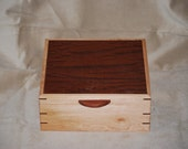 Fantastically Figured Quilted Maple & Beeswing Bubinga jewelry Box