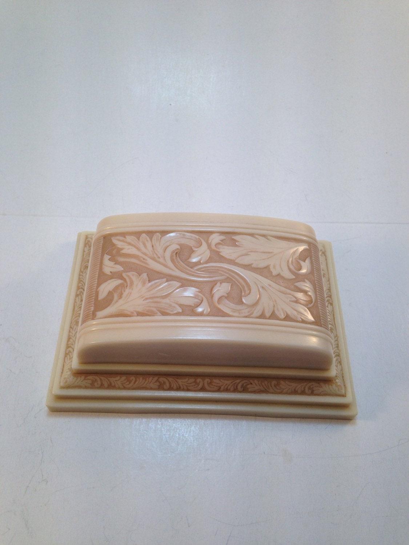 sale antique deco celluloid ring box casket