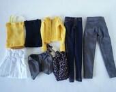 """16"""" fashion doll mini capsule wardrobe 8-piece"""