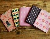 Cotton and Steel Fat Quarter Bundle Pink Navy Mustard