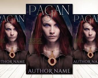 "Premade Digital Book eBook Cover Design ""Pagan"" Fiction Young New Adult YA Urban Fantasy Romance Sci Fi Literary Fiction"
