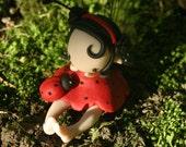 Ladybug Fairy Figurine