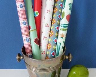 Patterned contact paper sticky backed plastic
