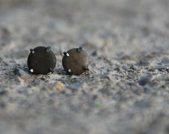 Pebble ear studs - ready to ship