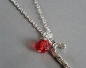 Candycane Charm Necklace