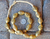 Tabular Brass/Copper Beads: 18x28mm