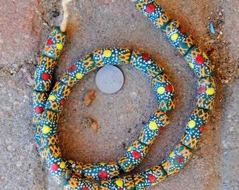 African Krobo Beads: Large