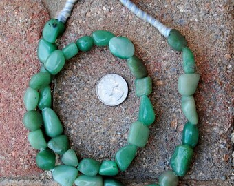 African Jadeite: 8-20mm