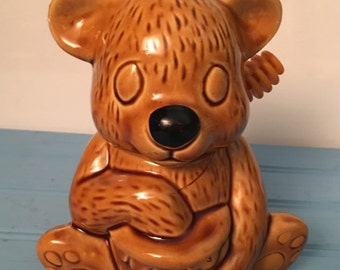 Ceramic Honey Bear & Dripper