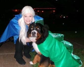 Dog Dragon Halloween Costume, Dog Costume, game of thrones