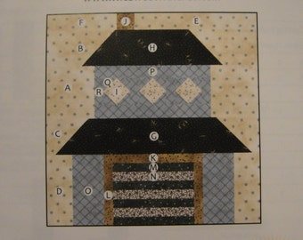 Townhouse Quilt Block of the Month 10 From Fat Quarter Shop BOM