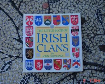 The Little Book of Irish Clans by John Grenham - Like New