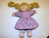 Cabbage Patch Doll Dress and Knickers