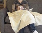 marimekko blanket lap blanket kivet cream tan modern throw