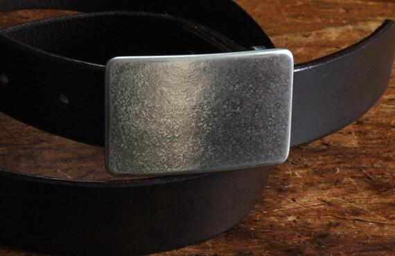 "Handcrafted Silver Suit Belt Buckle Gifts for Dad Hypoallergenic Groomsmen's Accessories Unisex Belt Buckle Gifts for Guys Fits 1-1/4"" Belt"