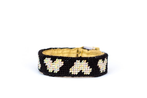 DIY Needlepoint Skinny Cuff Kit in Butterfly