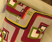 Custom Pillow Covers - Vintage Barkcloths