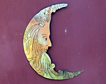 Half Moon Metal Wall Art