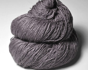 Dead walnut wood - Tussah Silk Fingering Yarn