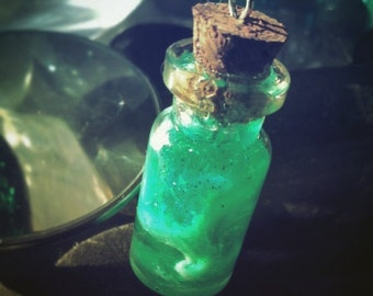 Poison bottle pendant