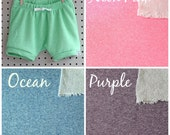 CHOOSE YOUR COLOR - Baby Shorts - Baby Girl Shorts- Baby Boy Shorts - Baby Sweatpants  - Baby Shorties - Baby Joggers