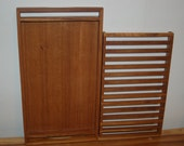 Selandia Designs Teak Wood Handled Tray with Rack Insert ~ Very Good Condition ~ Danish Modern