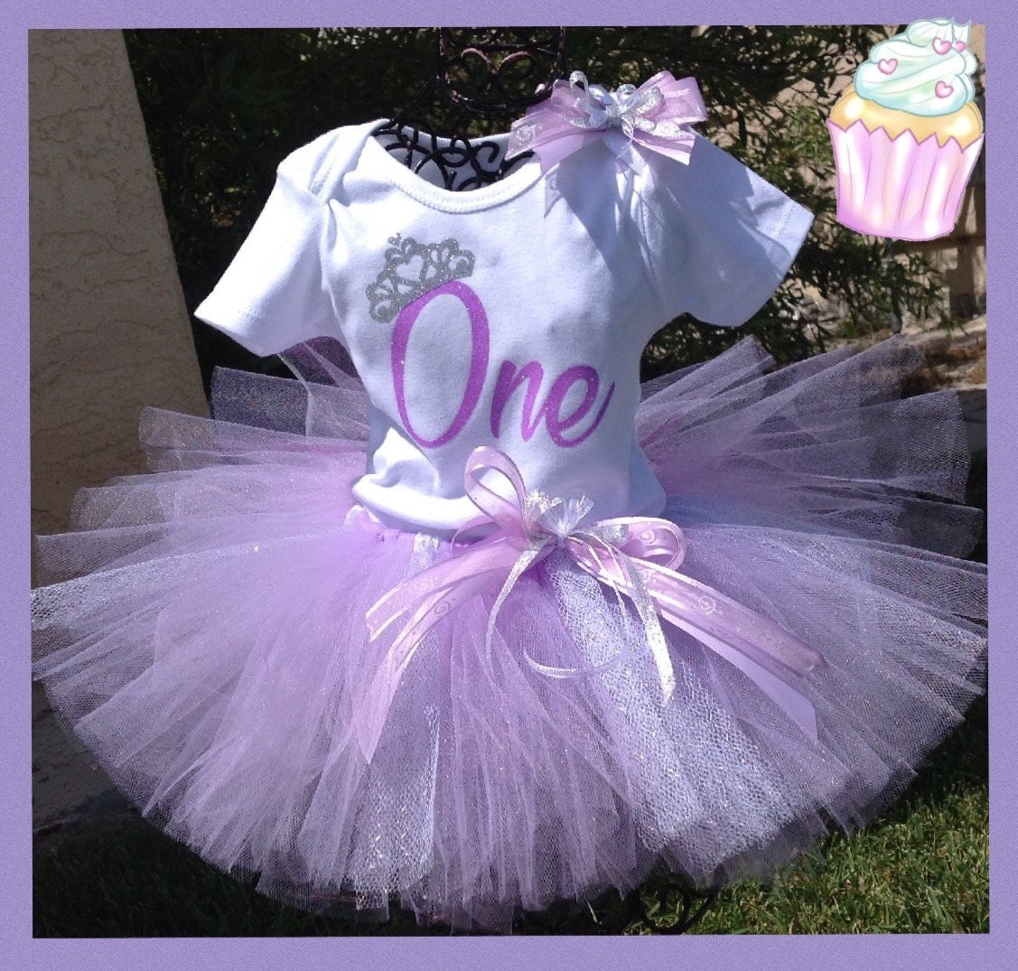 First Birthday Tutu Outfit First Birthday 2nd Birthday 1st