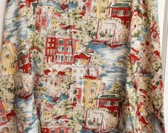 vintage pink travel skirt