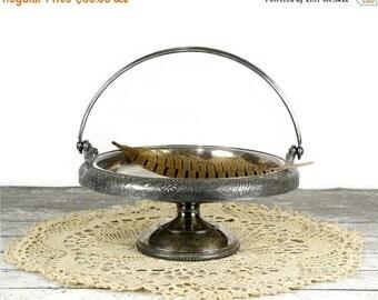 On Sale Antique Brides Basket, Hartford Silver Plate, Silver Plate Centerpiece, Aesthetic, Victorian Decor