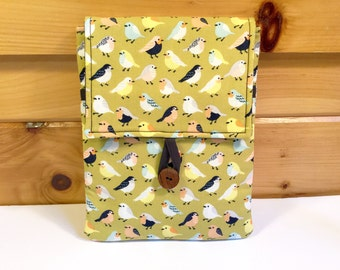 Ipad Cover, Ipad Case, Birds, Tablet Cover, Device Storage
