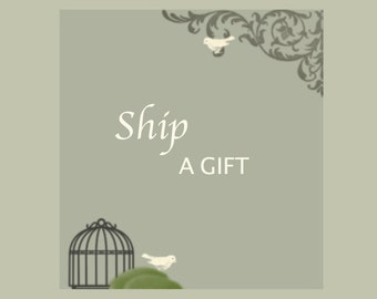 Individual Gift Shipping for Bridesmaid Invitations